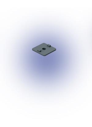 Adapter lemez S 40x40 D8,5