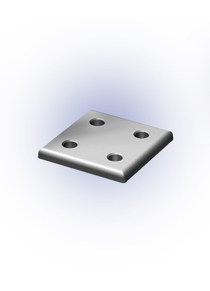 Csomóponti lemez 40-es 80x80