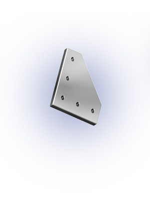 Csomóponti lemez L 40-es 120x120