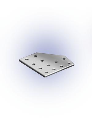 Csomóponti lemez L 40-es 160x160