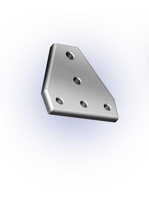 Csomóponti lemez T 40-es 120x120