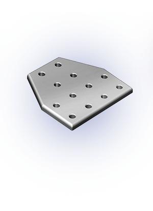 Csomóponti lemez T 40-es 160x160