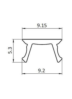 Rugós horonyanya  M5  U8