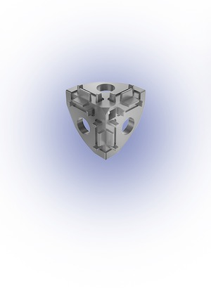 Sarokponti összekötő 20x20 I5