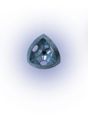 Sarokponti összekötő 45x45 B10