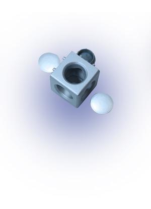 Sarokponti összekötő blokk 20x20 (3D) B6