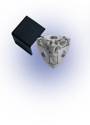 Sarokponti összekötő takaró 20x20 I5