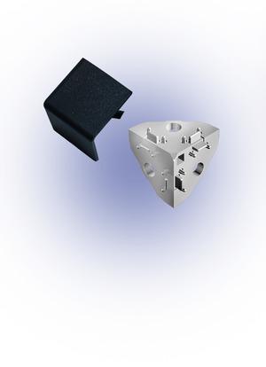 Sarokponti összekötő takaró 40x40 I8