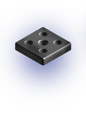 Talp adapter 80x80 D12 M16